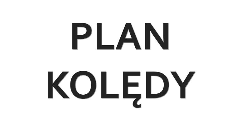 Plan kolędy 2017